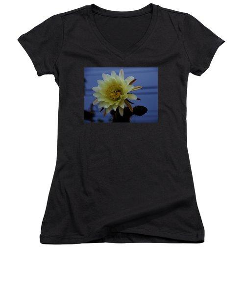 Cactus Flower Women's V-Neck