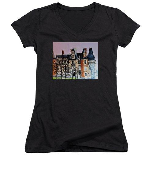 Chateau De Maintenon Women's V-Neck