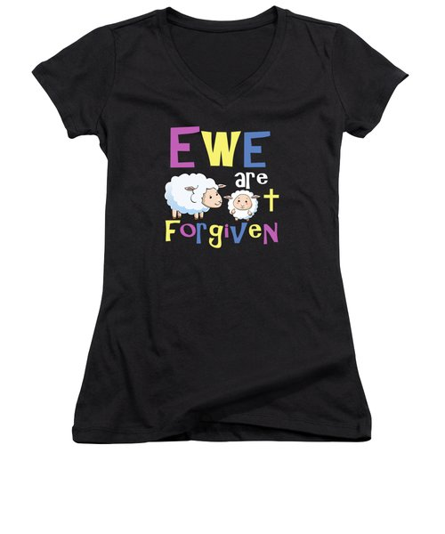 Christian Gifts For Kids Women's V-Neck