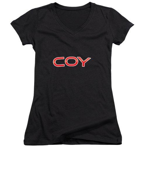 Coy Women's V-Neck