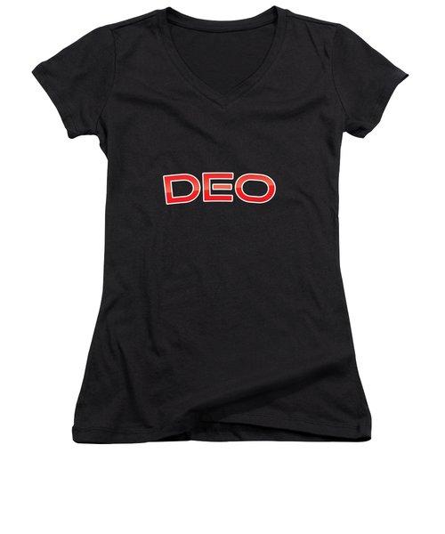 Deo Women's V-Neck