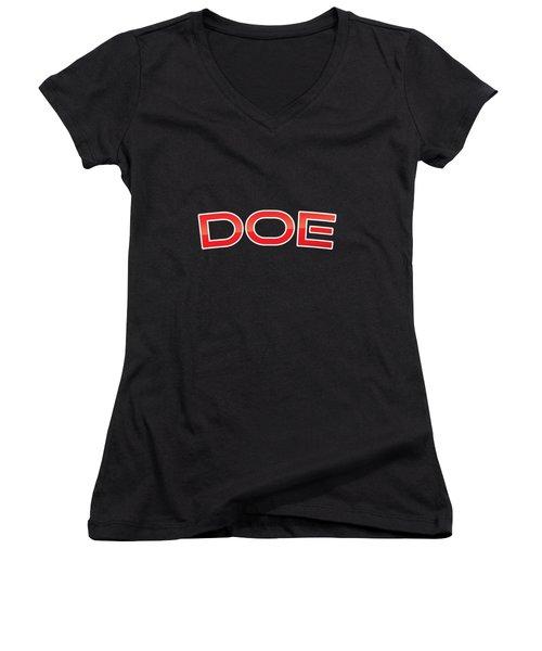 Doe Women's V-Neck