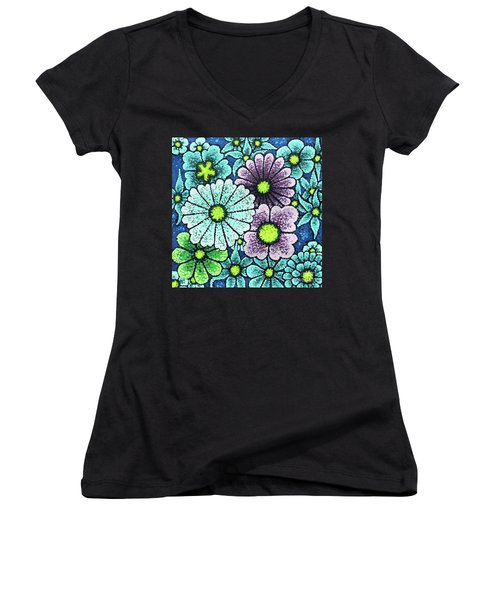 Efflorescent 2 Women's V-Neck