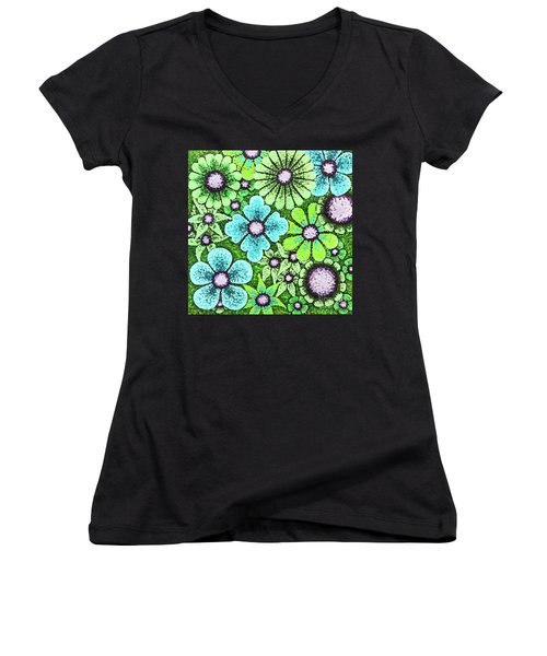 Efflorescent 9 Women's V-Neck