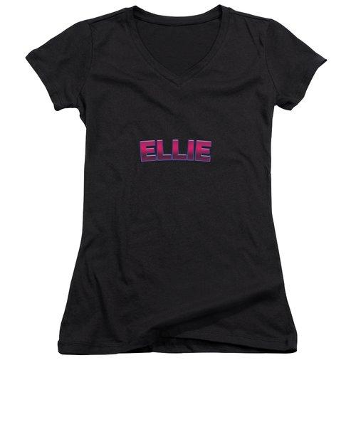 Ellie #ellie Women's V-Neck