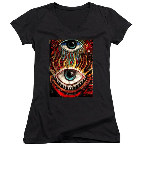 Eyes On You Women's V-Neck