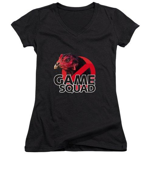 Game Squad Women's V-Neck