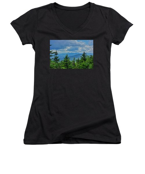 Grandmother Mountain Women's V-Neck