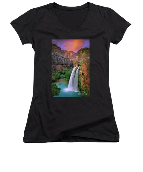Havasu Falls Women's V-Neck (Athletic Fit)