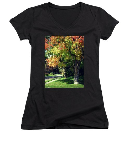 Her Beautiful Path Home Women's V-Neck