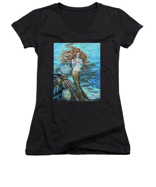 Highland Mermaid Women's V-Neck