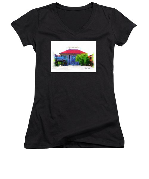 Historic Rio Grande Station Women's V-Neck