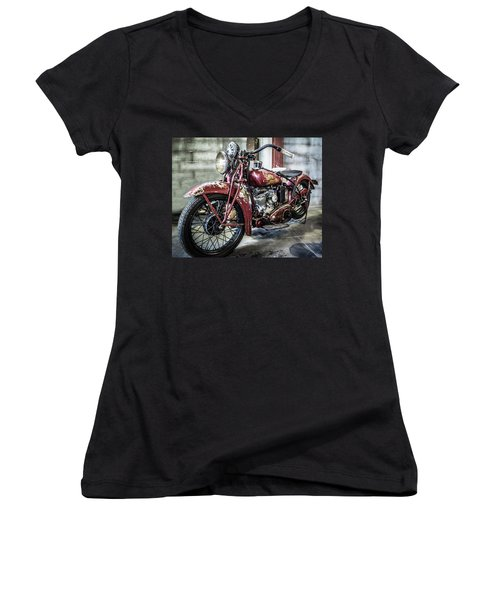 Indian Motorcycle Women's V-Neck