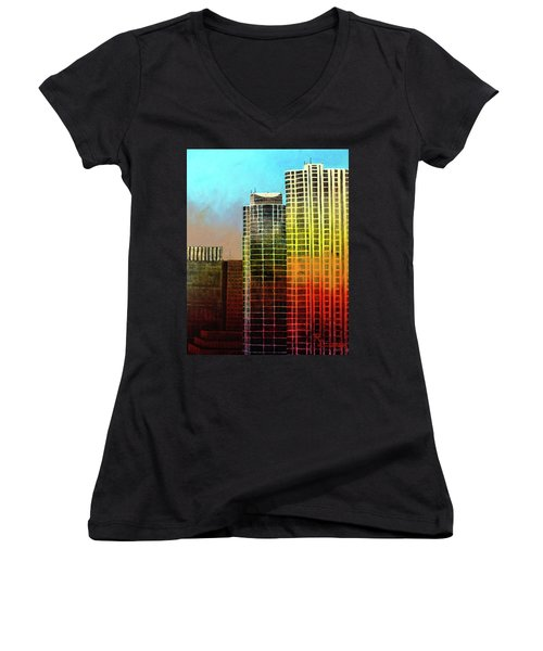 It Takes A Rainbow Women's V-Neck