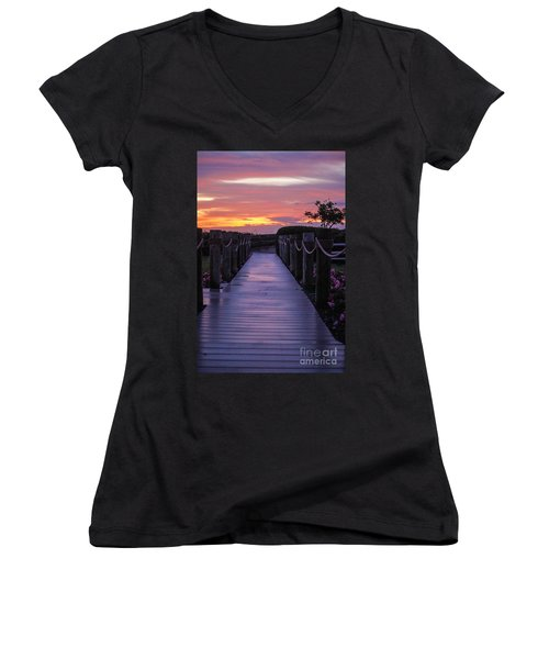Just Another Day In Paradise Women's V-Neck