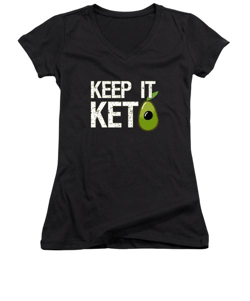 Keep It Keto Women's V-Neck