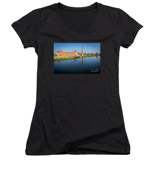 King Mill - Augusta Ga 1 Women's V-Neck