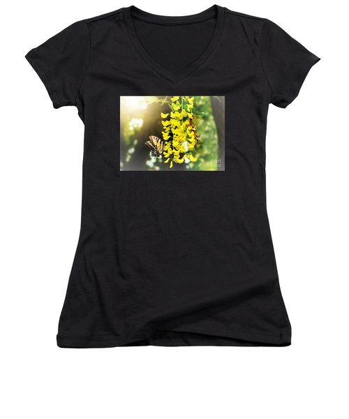 Kissed By The Sun Women's V-Neck