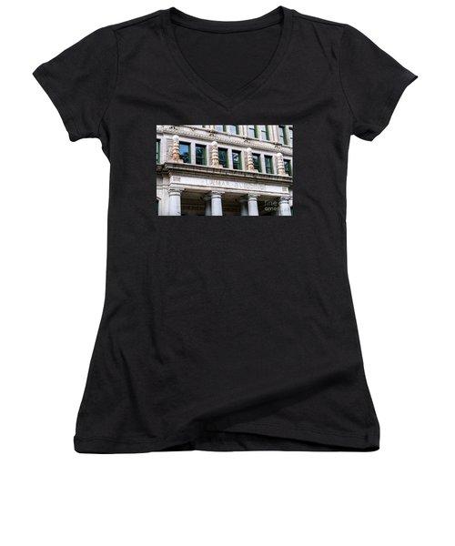 Lamar Building - Augusta Ga Women's V-Neck
