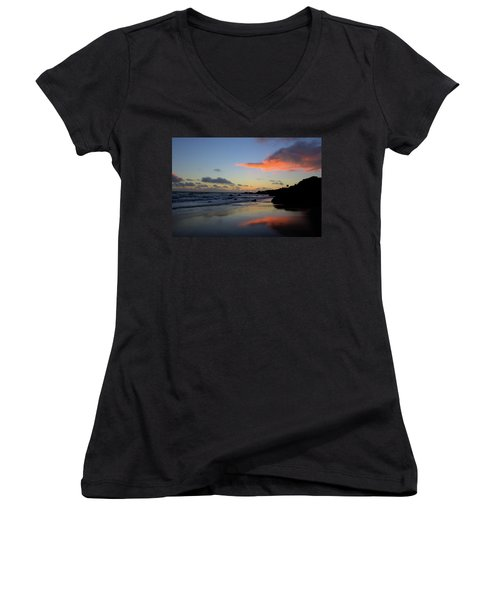 Leo Carrillo Sunset II Women's V-Neck (Athletic Fit)