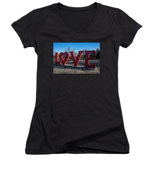 Loveland Women's V-Neck