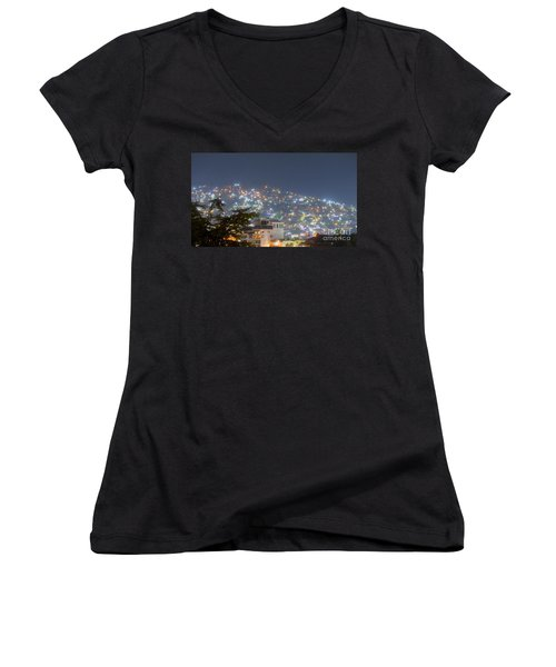Magic Of Zihuatanejo Bay Women's V-Neck