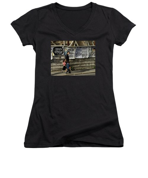 Mother Women's V-Neck