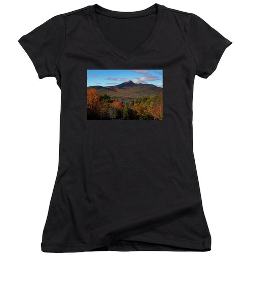 Mount Chocorua New Hampshire Women's V-Neck