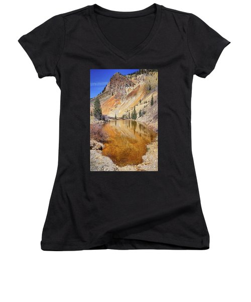 Mountain Reflections Women's V-Neck