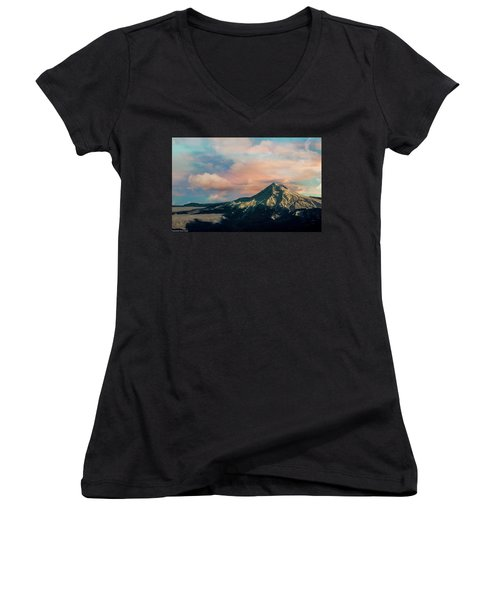 Mt Hood Women's V-Neck