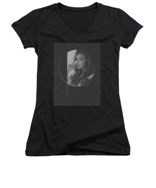 Muted Shadow No. 5 Women's V-Neck