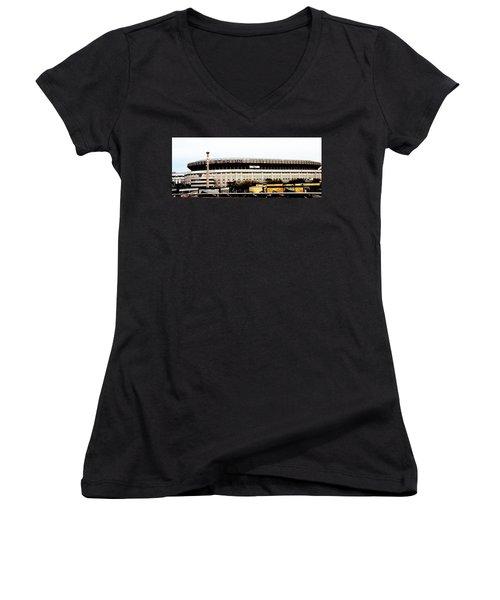 Old Yankee Stadium Women's V-Neck