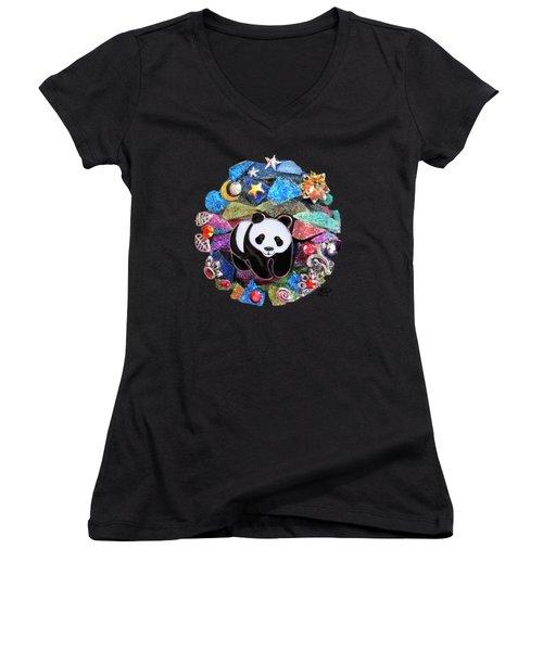 Panda Bear 1 Women's V-Neck