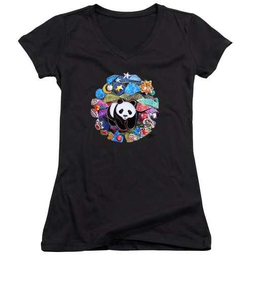 Panda Bear 1 Women's V-Neck