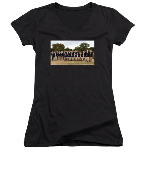 Players Women's V-Neck (Athletic Fit)