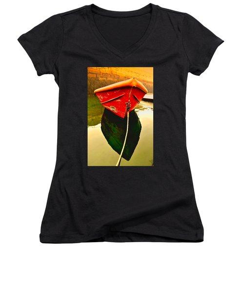 Red Boat Women's V-Neck