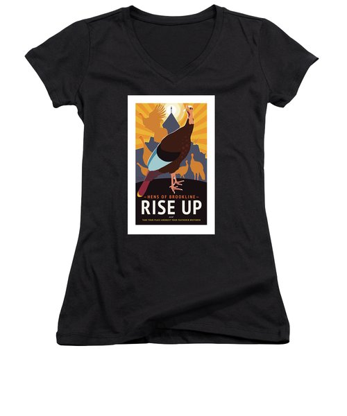 Rise Up Women's V-Neck