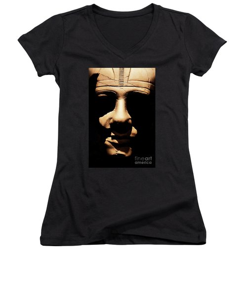 Shadows Of Ancient Egypt Women's V-Neck