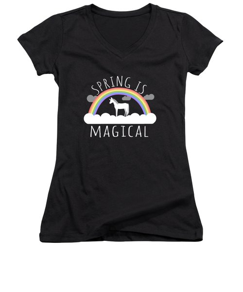 Spring Is Magical Women's V-Neck