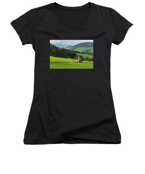St Johann From The East Women's V-Neck