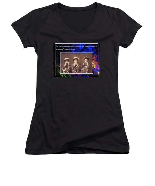The Mystic Circle Inspirational Series One Five Women's V-Neck