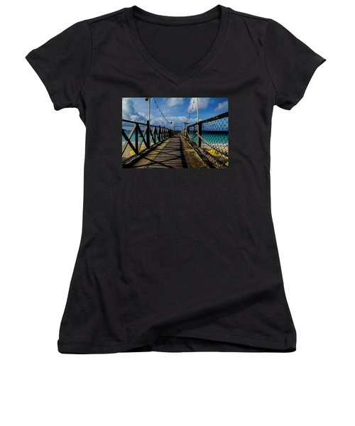 The Pier #3 Women's V-Neck