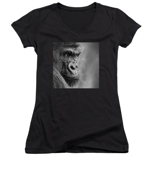 The Serious One Women's V-Neck