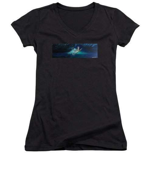 The Wedge - Duck Dive Women's V-Neck
