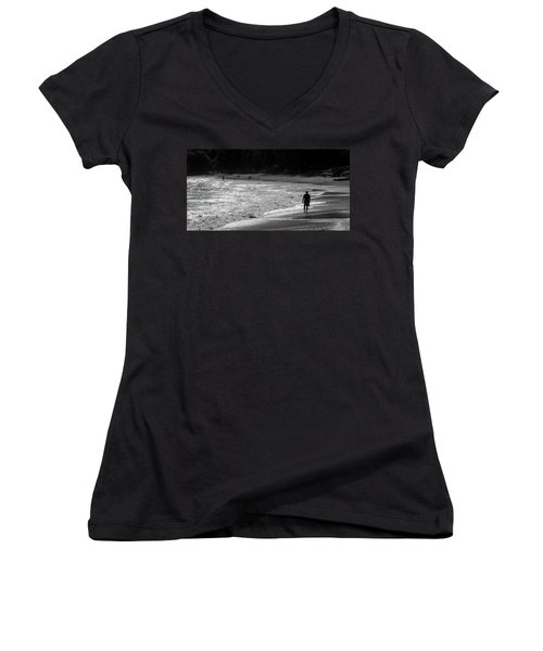 Time To Reflect Women's V-Neck