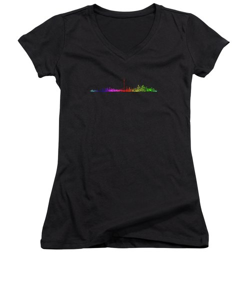 Toronto Rainbow Women's V-Neck