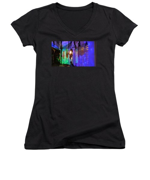 Trick Or Treat  Women's V-Neck