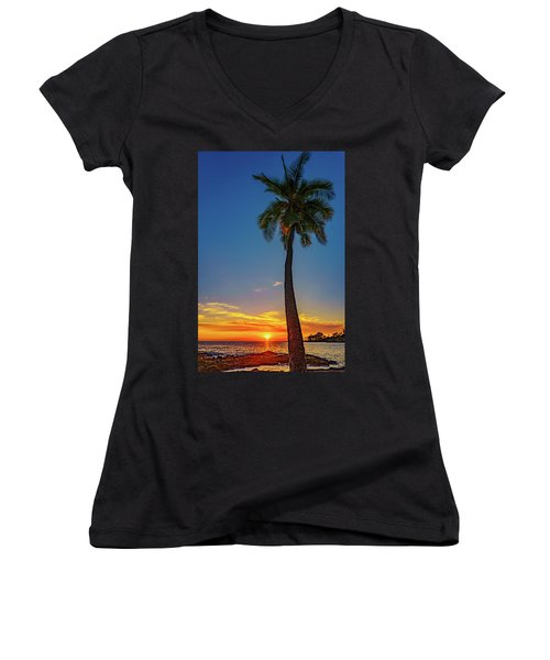 Tuesday 13th Sunset Women's V-Neck