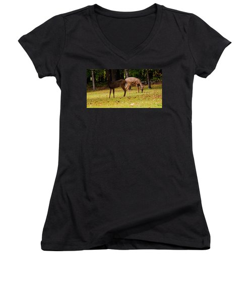 Two Of A Kind Women's V-Neck