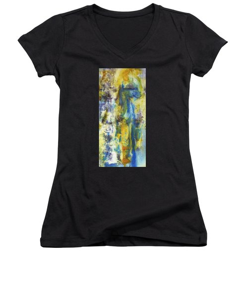 Untitled3 Women's V-Neck (Athletic Fit)